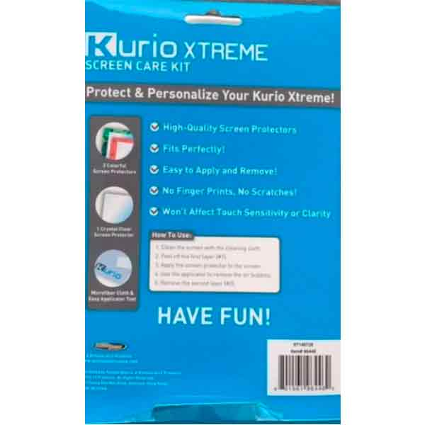 Mica Protectora Kurio Xtreme Screen Care Kit