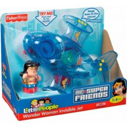 Jet Invisible Mujer Maravilla Fisher-price Wonder Woman_0