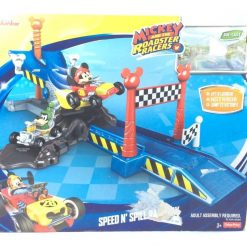 Pista Carreras Casa Club Mickey Roadster Racers Fisher Price_1
