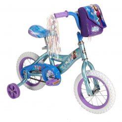 Bicicleta Triciclo Infantil Disney Frozen Huffy R12 Acero_0