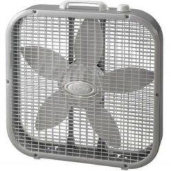 Ventilador Abanico Piso 20in Caja 3 Vel. Box Fan Aire Lasko_1