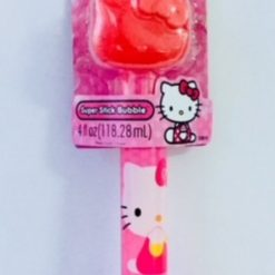 Burbujas Juego Hello Kitty 4oz Figura Grande Bubble Stick_1