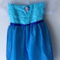 Vestido Elsa Disney Frozen Store Princesa Fiesta Disfraz _1
