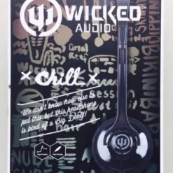 Audífonos Wicked Audio Chill Headband Headphones Black_1