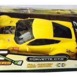 Carro Auto Corvette C7r New Bright Coleccion Escala 1:12_1