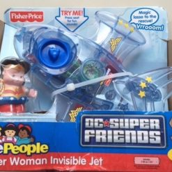 Jet Invisible Mujer Maravilla Fisher-price Wonder Woman_1
