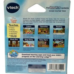 Video Juego Infantil Vtech Innotab Software Winnie The Pooh _1
