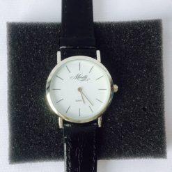 Reloj Analogico De Pulsera Cuarzo Monetti Cuero Unisex_0