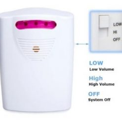 Alarma Inalambrica Entrada Alerta Sensor Wireless Security _3