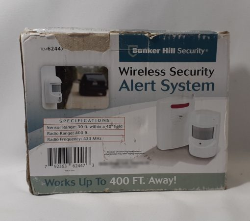 Alarma Inalambrica Entrada Alerta Sensor Wireless Security _5