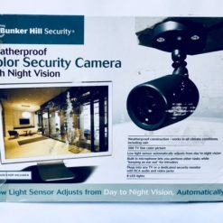 Camara Exterior Vision Nocturna Seguridad Microfono Cable Tv_1