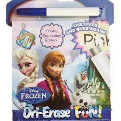 Dibuja Borra Frozen Libreta Didactica Lavable Olaf Ana Elsa _0