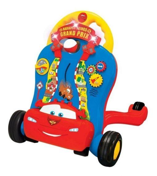 Andador Caminadora De Actividad Cars Sonidos Rayo Mcqueen_2