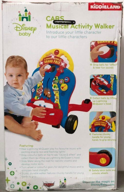 Andador Caminadora De Actividad Cars Sonidos Rayo Mcqueen_5