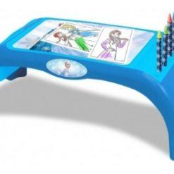 Escritorio Dibujo Mesa Actividades Infantil Frozen Dibujar _0