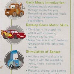 Andador Caminadora De Actividad Cars Sonidos Rayo Mcqueen_3