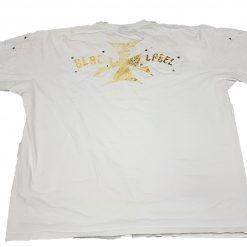 Camisa Blac Label Blanca Estampado Talla 6X 100% Algodón_1