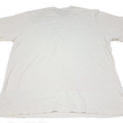 Camisa C. K. Blanca Talla 3XLT 100% Algodón Con Estampado_1