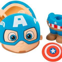 Mega Goma Borrador Puzzle 3D Capitán América Rompecabezas_1