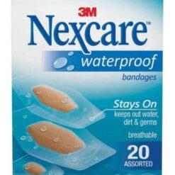 Nexcare Curitas Benditas Impermeables Antibacterial 20pz _0