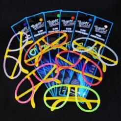 Lentes De Neon Tuny Glow Para Fiestas Kit De 5 Lentes Pack_3