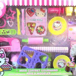 Cocina Fabrica Pasteles Hello Kitty Set Gourmet Plastilina _2