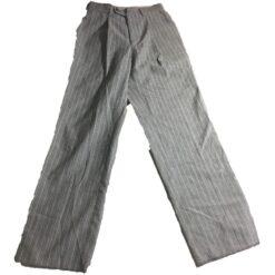 Pantalon Formal A Rayas Michael Kors Dama Mujer Elegante_1
