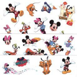 Calcomanias Tatuajes Temporales La Casa De Mickey Mouse_1