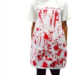 Delantal Ensangrentado Carnicero Maldito Disfraz Halloween_1