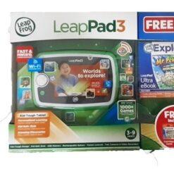 Mega Paquete Leappad 3 Frog Gratis Cartucho Y Protector Pad_0