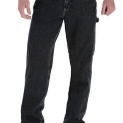 Pantalon Negro Wangler Carpenter Clásico Niño Regular Dura_0
