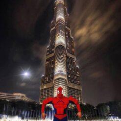 Disfraz Spiderman El Sorprendente Hombre Araña Adulto _1