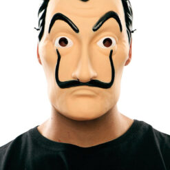 Mascara Salvador Dali Halloween Plastico Duro Casa De Pape_0