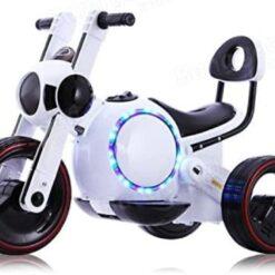 Motocicleta Para Bebe Niño Electricta Led Dif Colores_4
