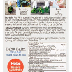 Balsamo Pomada Crema Masajeadora Hidratante Baby Raspones _1