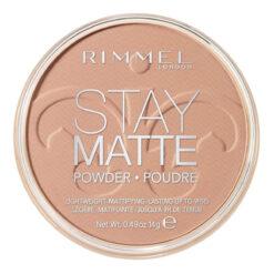 Polvo Compacto Para Cara Stay Matte Color Beige De Rimmel Cr_0