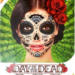 Juego De Tatuajes Día De Muertos Day Of The Dead Tatoo_1