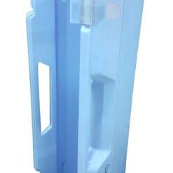 Melodica Mini Piano Usada 37 Teclas Azul Con Estuche Maxima _1