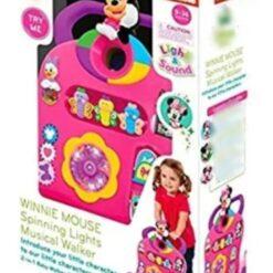 Andador Caminadora De Actividad Sonidos Minnie Mouse Luces_2