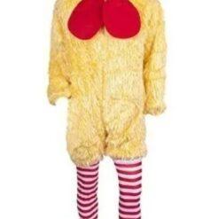 Disfraz De Pollo Traje Simpático De Gallito Feliz_0