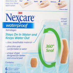 Nexcare Curitas Benditas Impermeables Antibacterial 20pz _1