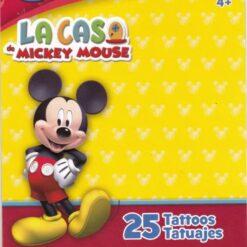 Calcomanias Tatuajes Temporales La Casa De Mickey Mouse_0