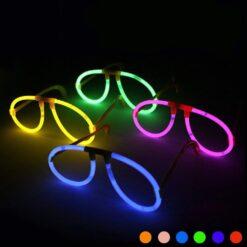 Lentes De Neon Tuny Glow Para Fiestas Kit De 5 Lentes Pack_4