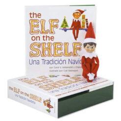 Elfo Duende Explorador Esp Ing The Elf On The Shelf Navidad _1