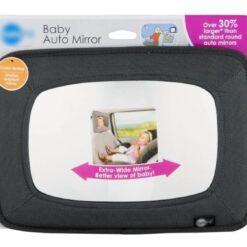 Espejo Vista Auto Vigilancia Bebe Extra Ancho Safe Fit _0