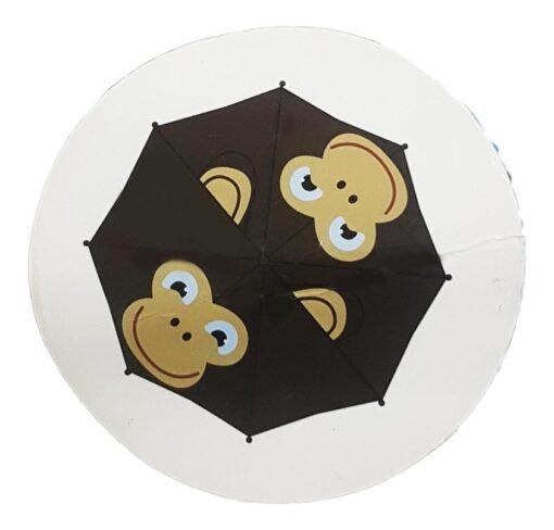 Paraguas Pop Up Umbrella Monkey Animación Changuito_0