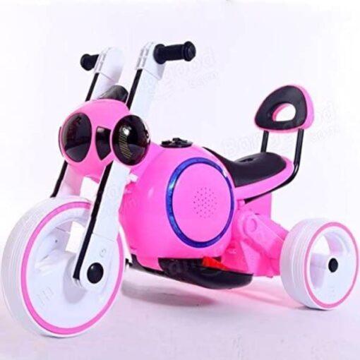 Motocicleta Para Bebe Niño Electricta Led Dif Colores_2