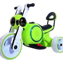Motocicleta Para Bebe Niño Electricta Led Dif Colores_0