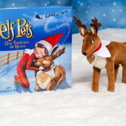Elf On The Shelf Original Reno Navideño Peluche Navidad Pets_7