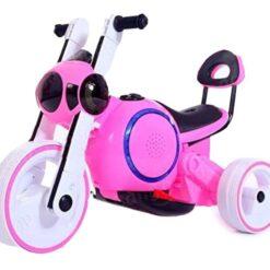 Motocicleta Para Bebe Niño Electricta Led Dif Colores_1